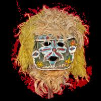 Máscara de Alchileo, Los Alchileos, Estado de México Mexíco
