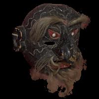 Máscara de Cabezón, Carnaval, Michoacán México