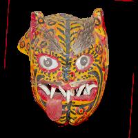 Máscara de Tecuán/Jaguar, Los Tecuanes, Morelos México