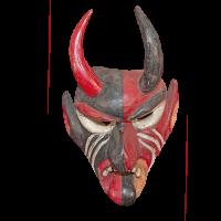 Máscara de Diablo Fariseo, Semana Santa, San Luis Potosí México