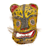 Máscara de Tecuán/Jaguar, Los Tecuanes, Guerrero México