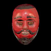 Máscara de Santiaguero, Santiagueros, Puebla México