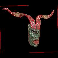 Máscara de Fariseo, Semana Santa, GuanajuatoMéxico